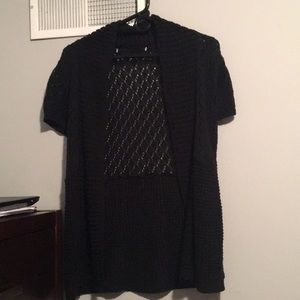 Maurices Black Knot Cardigan. Size: S